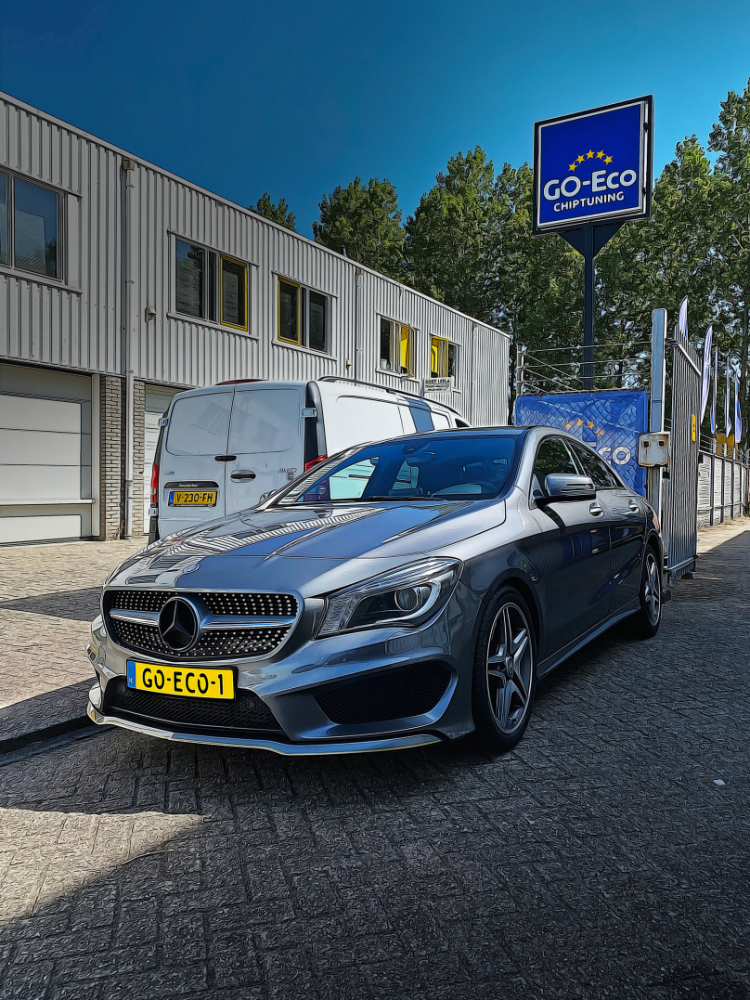 Chiptuning Mercedes-Benz CLA 180