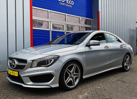 Mercedes-Benz CLA 180 chiptuning